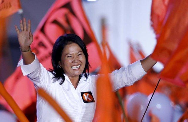 Keiko Fujimori cierra su campaña electoral