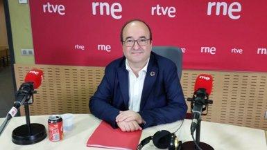 """Iceta troba un error donar a Puigdemont un """"plus de representativitat"""" (RNE)"""