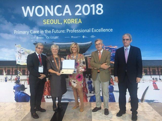 Verónica Casado recoge el premio a mejor médico de familia del mundo