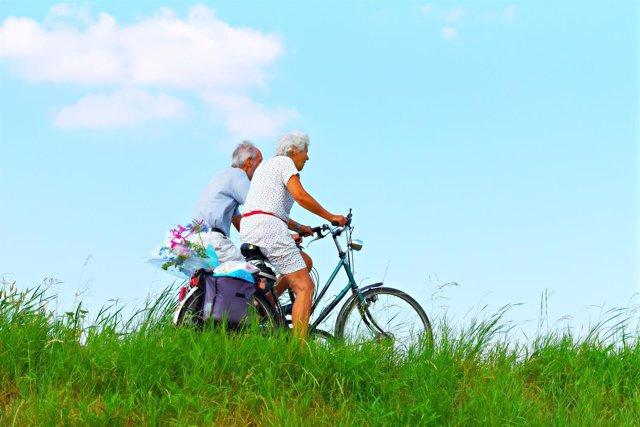 Ejercicio físico, persona mayor