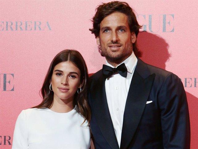 Feliciano López y Sandra Gago cumplen un año de relación