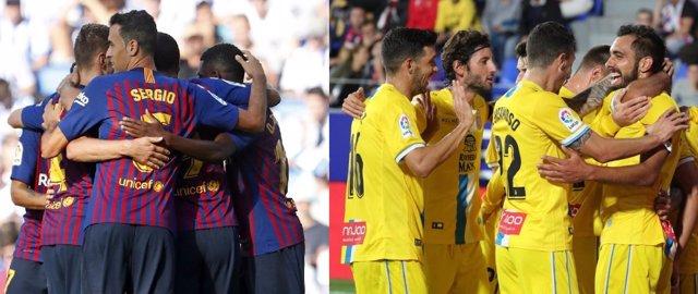 Barça y Espanyol, primero y segundo en LaLiga 2018/19