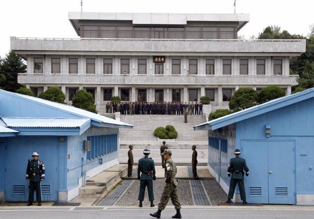 Frontera entre las dos Coreas (Archivo)