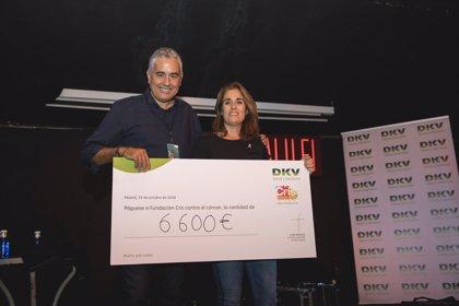 DKV y Ariel Rot recaudan 6.600 euros para la lucha contra el cáncer