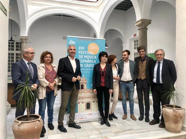 Presentación del XVI Festival de Música Española de Cádiz