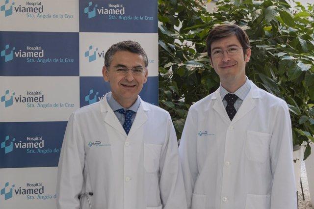 Doctores Manuel Blanco y Óscar Cáceres