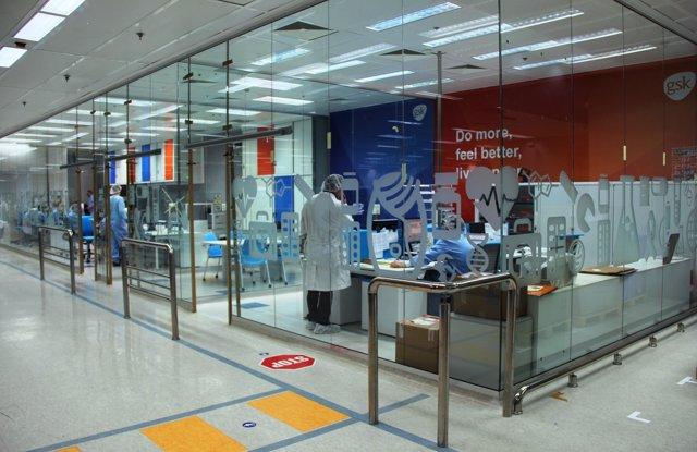 Centro de producción de GSK Aranda