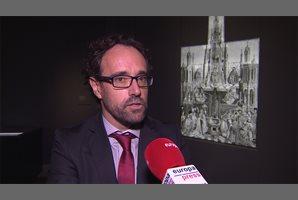 """Restauración del cuadro """"La Fuente de la Gracia"""" en el Museo del Prado de Madrid"""