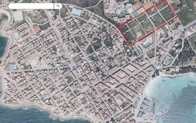 Terraferida presenta alegaciones para evitar la urbanización de cinco hectáreas en la Colonia de Sant Jordi