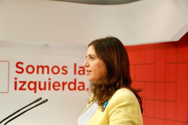 La portavoz del Comité Electoral, Esther Peña