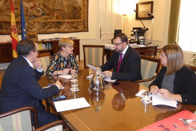 Reunión entre FSA y Comisionado frente al reto demográfico