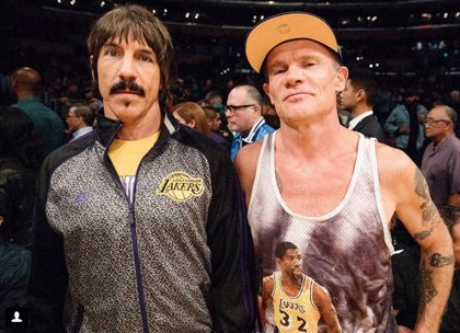Anthony Kiedis, de Red Hot Chili Peppers, expulsado de un partido de la NBA