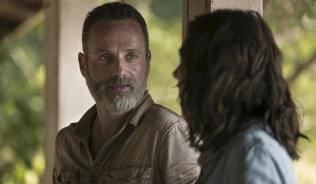 Rick en The Walking Dead