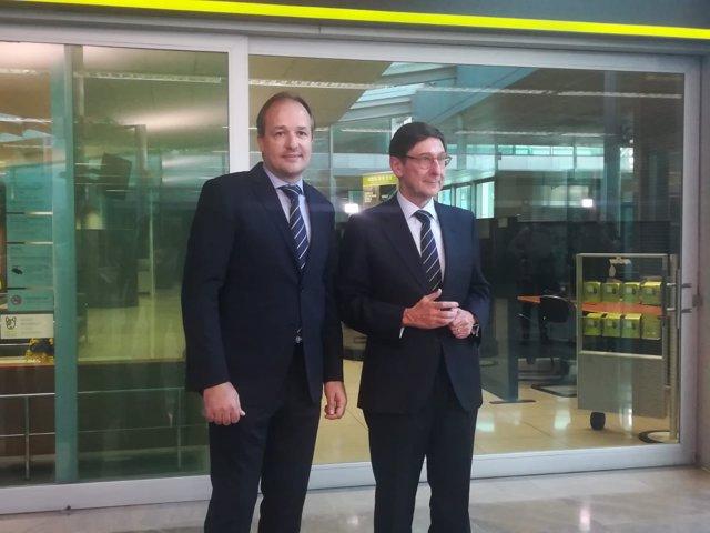 El presidente de Bankia, José Ignacio Goirigolzarri, en Palma