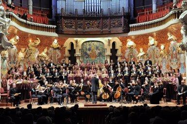 L'Orfeó Català debutarà a Xina aquesta setmana amb quatre concerts (A.BOFILL - Archivo)