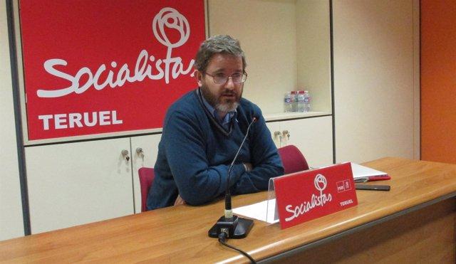 El diputado del PSOE Teruel al Congreso, Ignacio Urquizu.