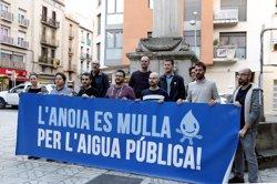ERC, PSC, CUP i Igualada en Comú exigeixen la gestió pública de l'aigua a la capital de l'Anoia (ACN)