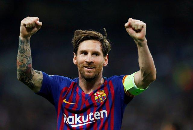 El jugador del Barcelona Lionel Messi