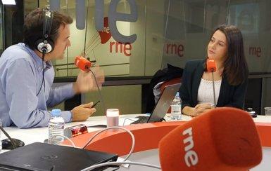"""Arrimadas (Cs) alerta de l'intent de crear """"un Govern català paral·lel"""" sense control parlamentari (@LASMANANAS_RNE)"""