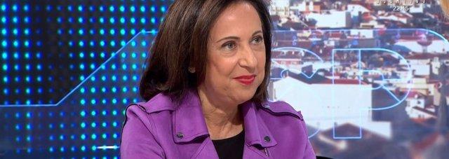 Entrevista en Antena 3 a la ministra de Defensa, Margarita Robles