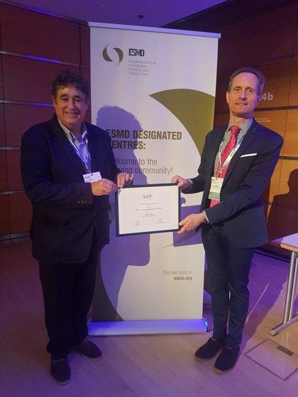 OncoHealth Institute ha sido certificado por la ESMO como Centro Integral de Oncología y Cuidados Paliativos