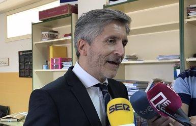 Marlaska cessa el cap de la Policia Nacional a Navarra pels seus insults a polítics en Twitter (Europa Press)