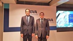 L'economia catalana creixerà un 2,5% el 2018 i un 2,3% el 2019, segons el BBVA (Europa Press)