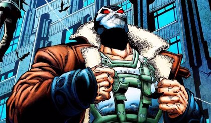 Entre Mad Max y Darth Vader: Así es el tremendo Bane de Gotham