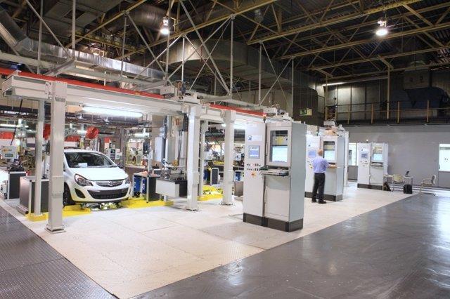 Planta de General Motors en Figueruelas