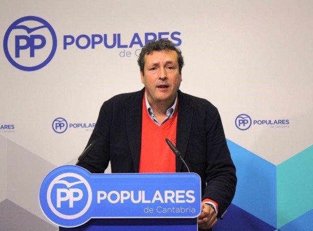 El portavoz del PP, Íñigo Fernández