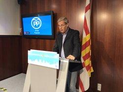 Alberto Fernández (PP) demanarà en el ple de Barcelona rebutjar la DUI un any després de declarar-se (EUROPA PRESS)