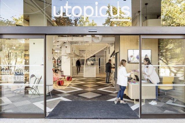 Espacio de 'coworking' Utopicus de Colonial