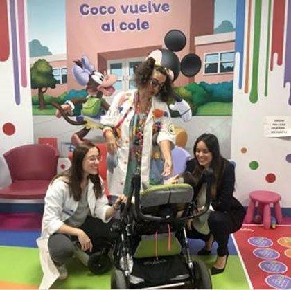 Empresas.- Air Liquide colabora con Fundación Theodora para ofrecer asistencia más humana a niños con parálisis cerebral