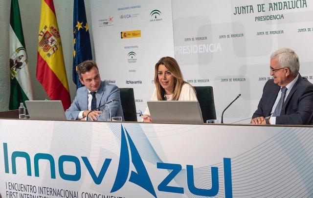 Susana Díaz, en la presentación de 'Innovazul'