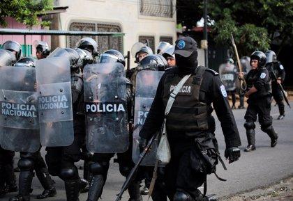 La Policía de Nicaragua despliega un amplio dispositivo en el centro de Managua