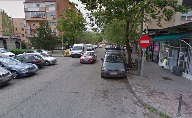 Calle Costa del Sol de Madrid