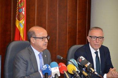 """Barrientos (TSJC): No hi ha relació amb la Conselleria d'Interior i """"no és el desitjable"""" (Europa Press)"""