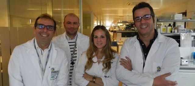 Manuel Tena Sempere y su equipo, del CIBEROBN