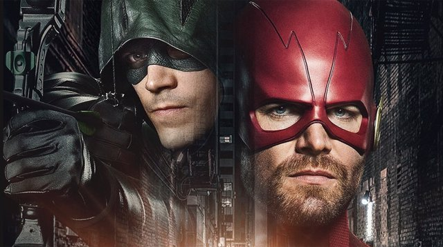 The Flash y Arrow en Elseworlds