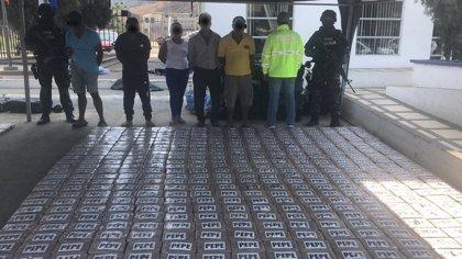 Incautan 2,3 toneladas de cocaína en una operación en Ecuador