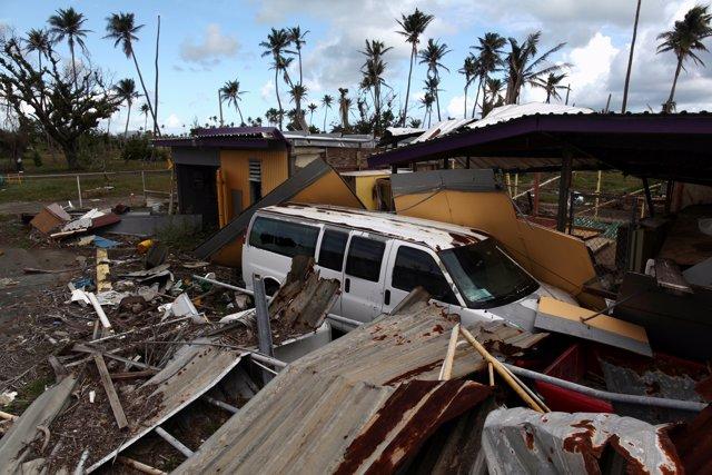 Destrozos provocados por el huracán 'María' en Puerto Rico
