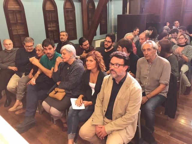 Dolors Sabater, Elisenda Alamany i Joan Josep Nuet