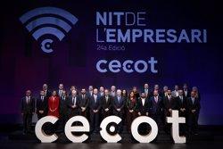Torra reivindica l'economia catalana malgrat