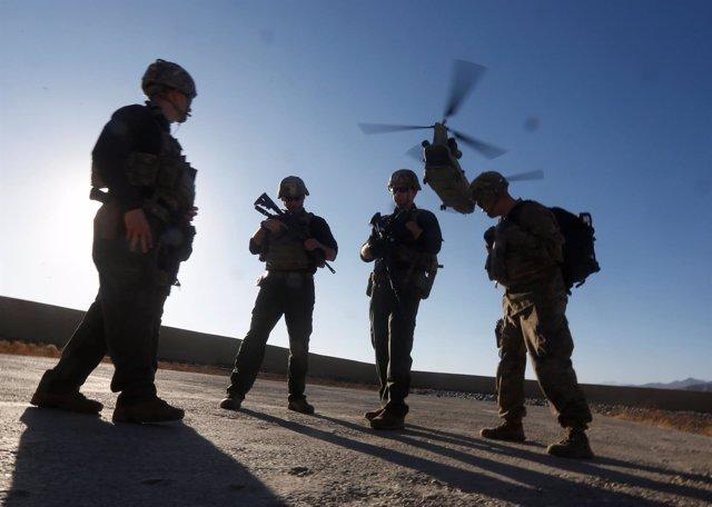 Efectivos de la OTAN en Afganistán