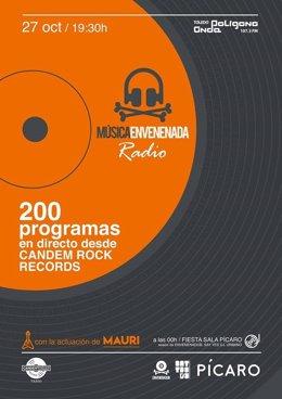 Cartel fiesta 200 programas