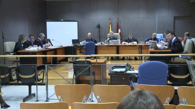Sala que acoge el juicio por el denominado 'caso Cabacas'