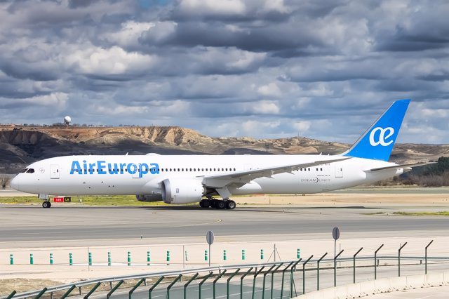 Avión 'Dreamliner' de Air Europa