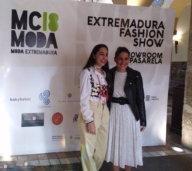 Isabel Gil Rosiña junto a la madrina de la Misión Comercial Inversa 2018