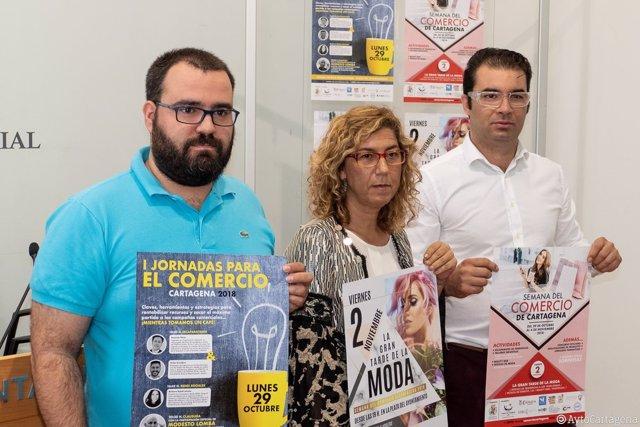 Presentación de la I Semana del Comercio de Cartagena