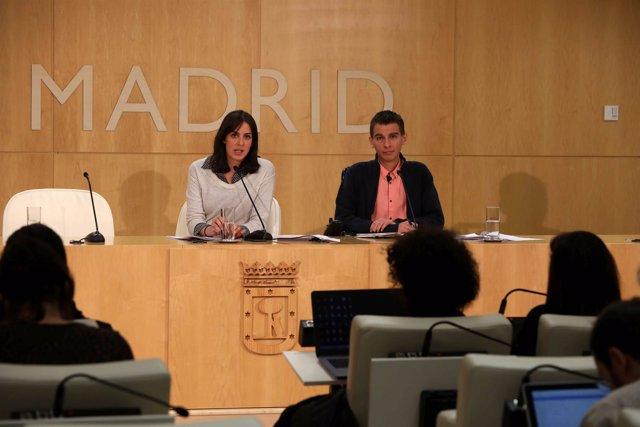 Rita Maestre y Pablo Soto